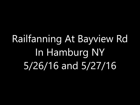 100th Sub Special Video Railfanning At Bayview Rd In Hamburg NY 5/26/16 and 5/27/16