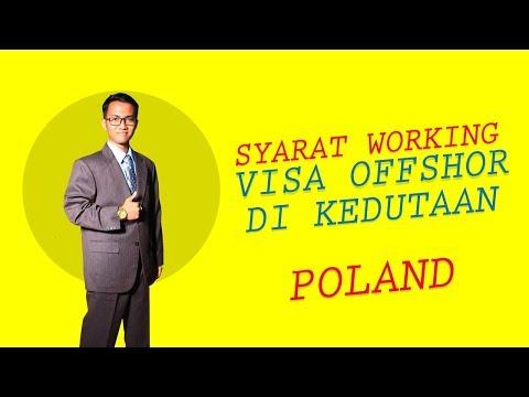 Syarat Working Visa Offshore di Kedutaan Poland