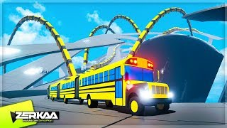 Create The LONGEST Bus In The World Challenge! (Snakeybus)