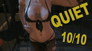 Metal Gear Solid 5: The Phantom Pain Quiet Rain And Shower Scenes