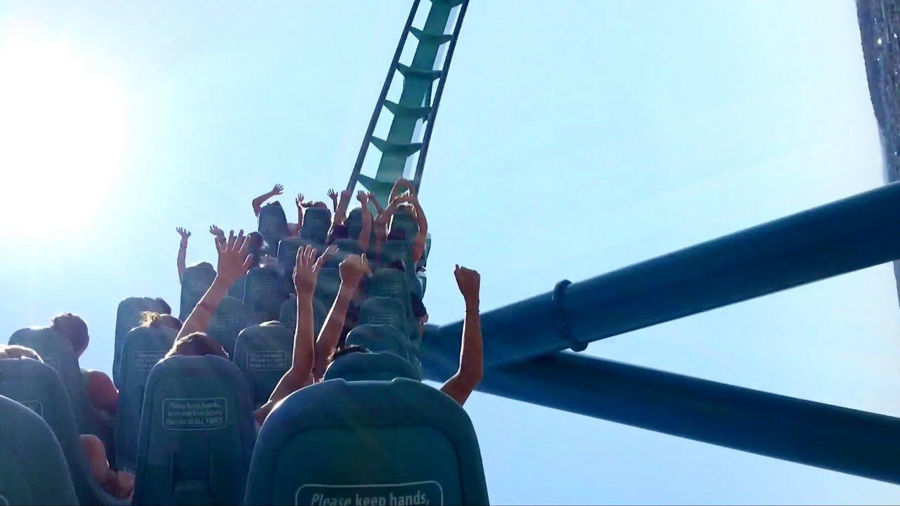 Leviathan Back Seat POV 2018 FULL HD Canada's Wonderland
