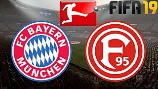 FIFA 19 | FC BAYERN MÜNCHEN vs. FORTUNA DÜSSELDORF | BUNDESLIGA ◄FCB #25►