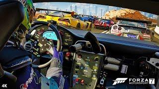 Forza 7 motorsport: limo bowling & hot hatch racing - forza 7 motorsport official walkthrough part 2