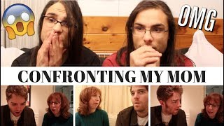 CONFRONTING MY MOM BY SHANE DAWSON I OUR REACTION! // TWIN WORLD
