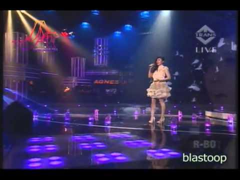 Agnes Monica   Rindu @ BRI dihati TransTv 12 02 2012