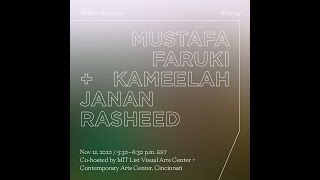 Shifter Waiting Session 4:  Mustafa Faruki and Kameelah Janan Rasheed