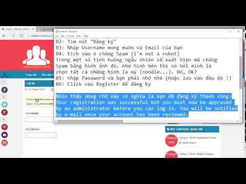 Hướng dẫn đăng ký Tài khoản và đăng tin Tuyển dụng tại Việc làm Vĩnh Phúc www.vinhphuc.work