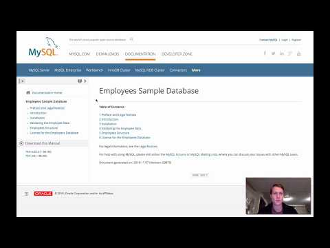 How To Download And Install The Employees Sample Database