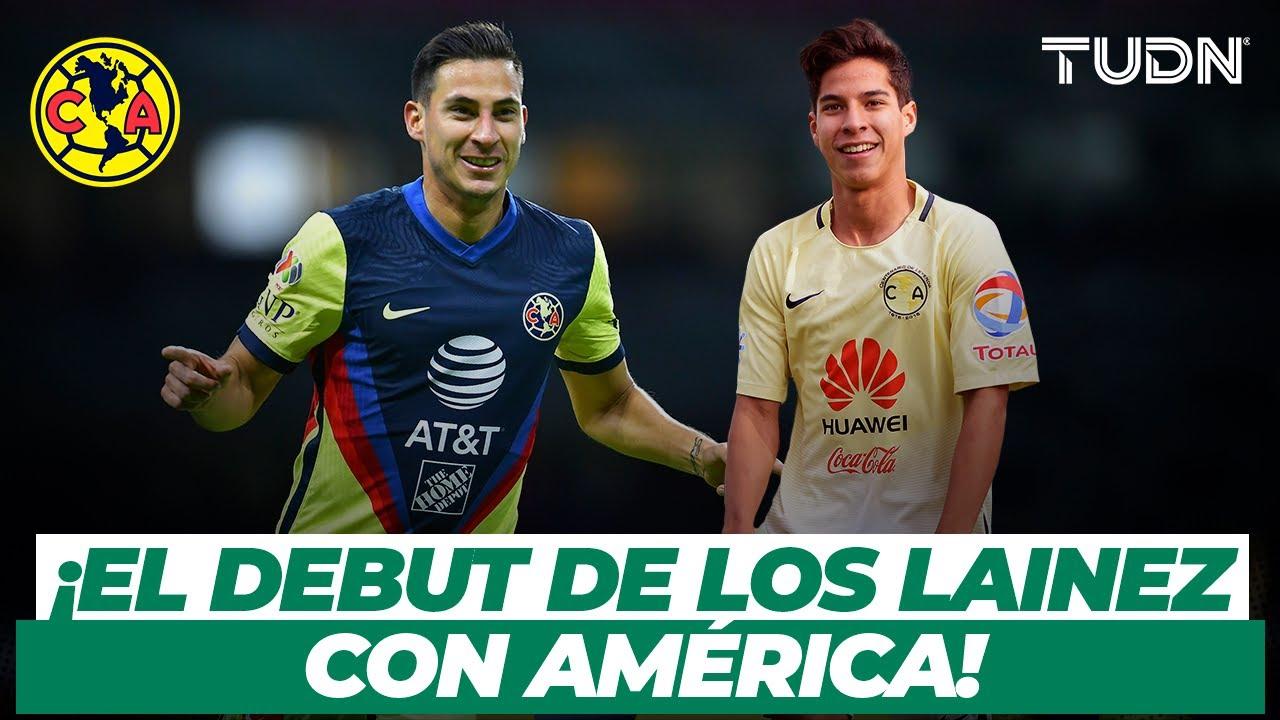 Download ¿Similitudes? Así se estrenaron Diego y Mauro Lainez con el América | TUDN