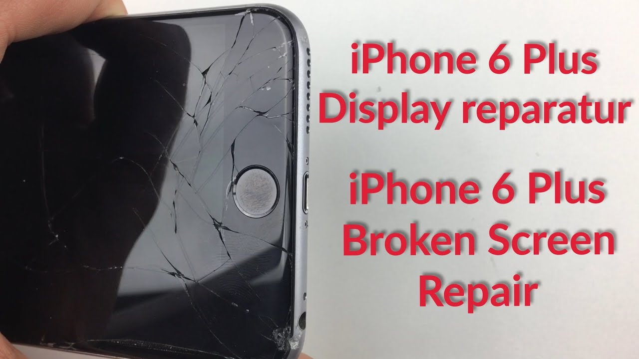 iphone 6 plus display lcd wechseln tauschen reparieren repair change fixing youtube. Black Bedroom Furniture Sets. Home Design Ideas
