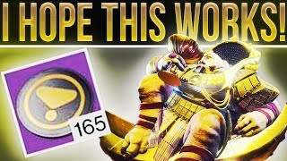 Destiny 2. Ok Let's See If This Works......The Emperor Calus Token Experiment.