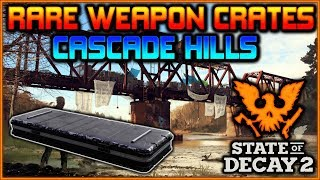 """""""RARE Weapon Crates"""" in CASCADE HILLS 