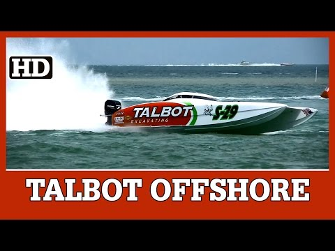 32' Doug Wright | Talbot Excavating Offshore Race Team