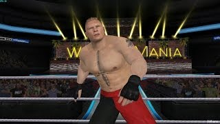 Wii - WWE 13 Dolphin 4.0 1080P Gameplay