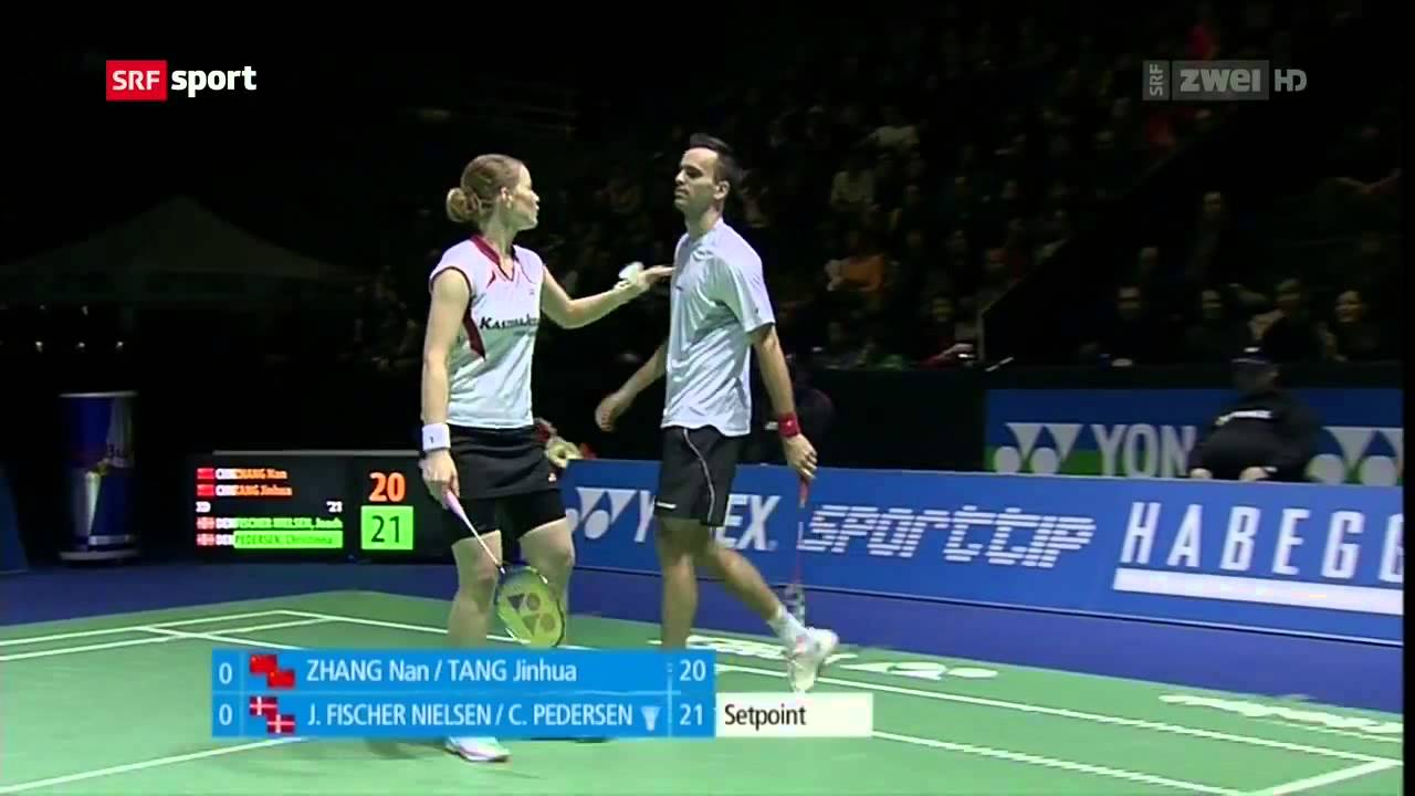 HD] Swiss Open 2013 Joachim Fischer Nielsen Christinna