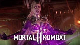 Mortal Kombat 11 - Official Sindel Gameplay Trailer
