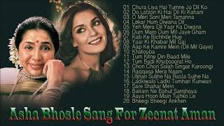 Asha Bhosle Sang For Zeenat Aman | Superhit Melodious Song | Chura Liya Hai Tumne Jo Dil Ko