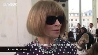 Los desfiles de la Semana de la Moda de París repasados por Anna Wintour