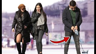 Peeing in Public Prank! | AWESOME REACTIONS | Best of Just For Laughs