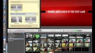 Imovie Quick Trailer Tutorial