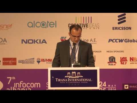 Ervis Bregu, IT Director, Intracom Telecom Albania