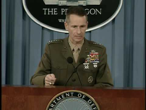 OASD: DoD News Briefing by General Peter Pace, USMC, Chairma