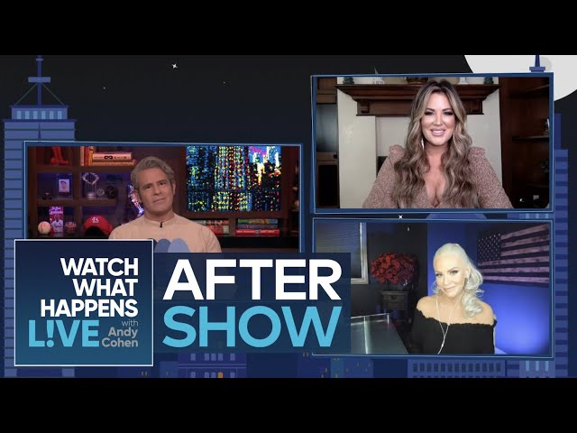 After Show\: Emily Simpson Texts with Alexis Bellino   WWHL