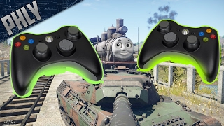 XBOX CONTROLLER CHALLENGE [War Thunder Tank Gameplay]