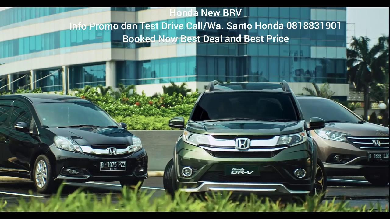 Honda BRV Prestige 2017 indonesia - YouTube