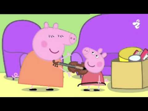 PEPPA PIG cūciņa pepa LV  Hide and Seek, Musical Instruments