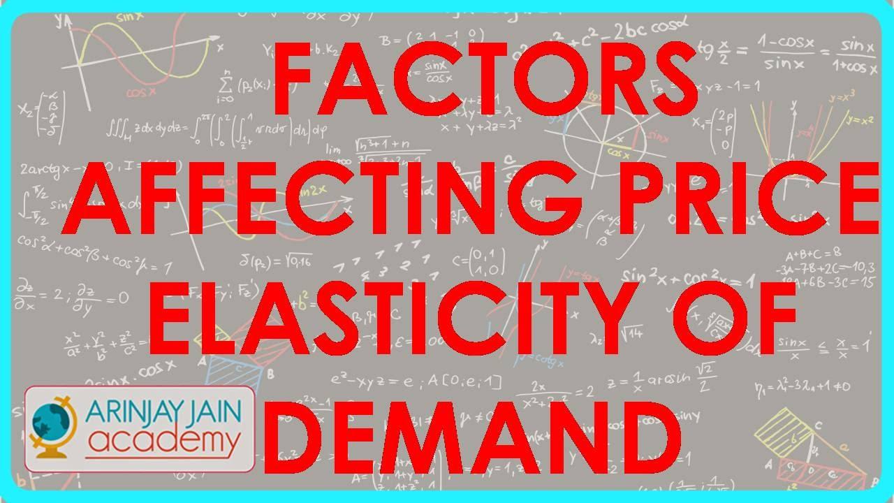 Class XII Economics For CBSE ICSENCERT Factors Affecting Maxresdefault Watch?vePaimkTBCQ