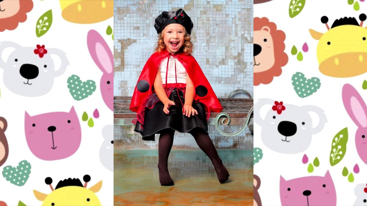Dyd disfraces de mariquitas para ni as y bebes youtube - Disfraz de mariquita de nina ...