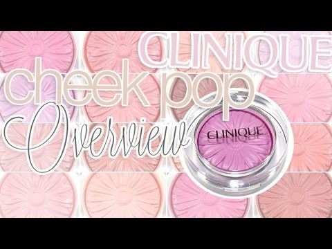 Review & Swatches: CLINIQUE Cheek Pop Blushes | ALL 12 SHADES! Mp3