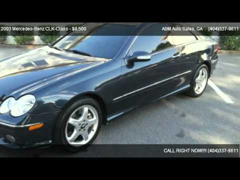 2003 Mercedes Benz Clk Class Clk 500 For Sale In