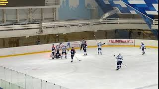 МХК Липецк - Белгород - 4:5. Гол Козлова (3:1)