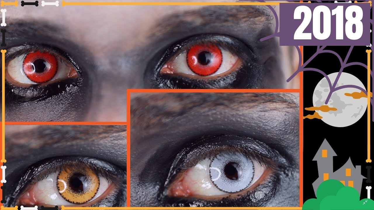 best halloween contact lenses scary costume fx lenses