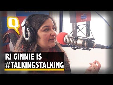 RJ Ginnie Is #TalkingStalking On Radio City | The Quint