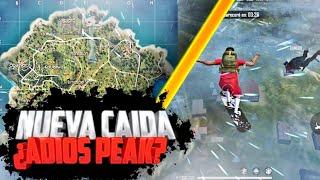 NUEVO LUGAR DE CAIDA  DEL COMPARES¿ADIOS PEAK?