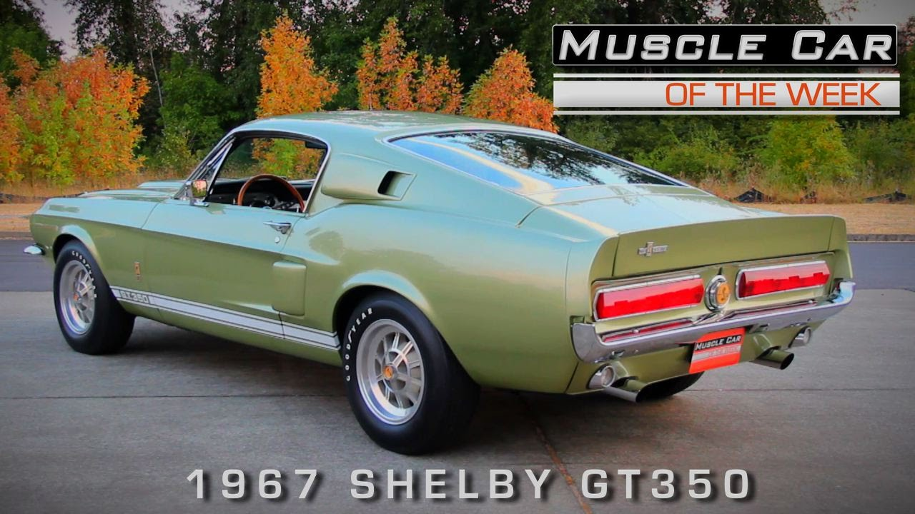 Muscle Car Of The Week Video Episode 140 1967 Shelby