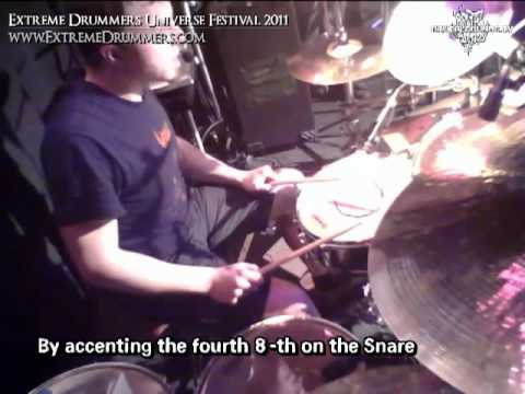Clemens Frank - Drum Workshop - Hybrid Beats (english subbed!)