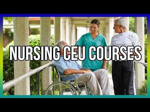 Nursing CEU Courses - Get Free Access Here