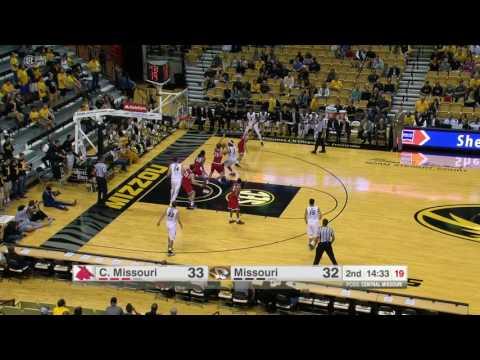 HIGHLIGHTS: Mizzou Hoops Beats Central Missouri 66-59