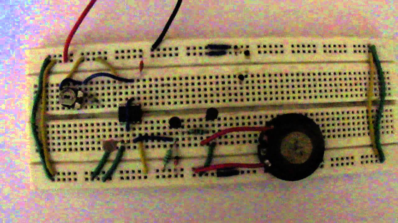 Magic Eye Using 555 Ic Timer Youtube Ne555 Melody Circuit Electronics Projects Circuits