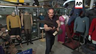 'Star Trek' props and costumes go up for auction