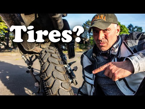 What Tires For Long Motorcycle Trip?