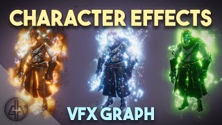CHARACTER EFFECTS in Unity VFX Graph