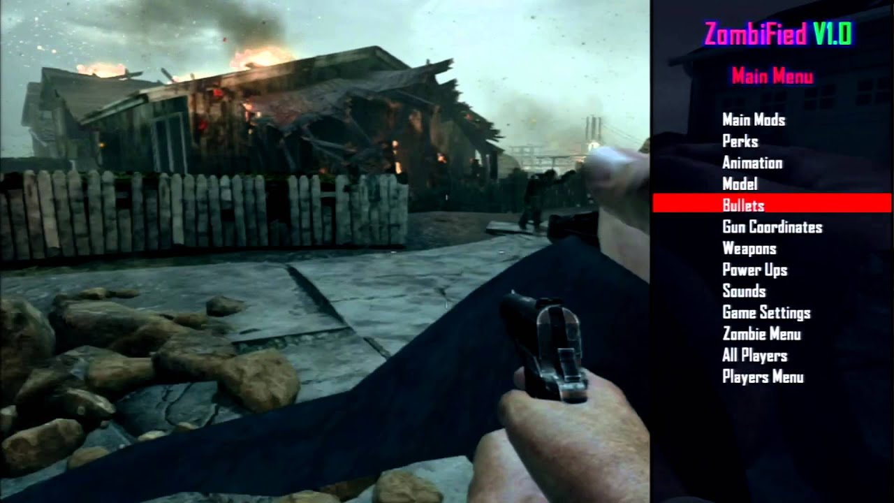 Black Ops 2 Zombies Mod Menu - Year of Clean Water