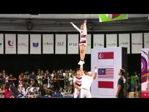 CASNCC 2014 - Atlas Perpsquad Gold - Coed Partner Stunt - Philippines [HD]