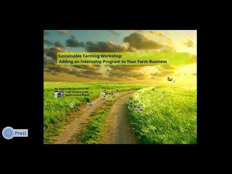 Curriculum for Farm Internship