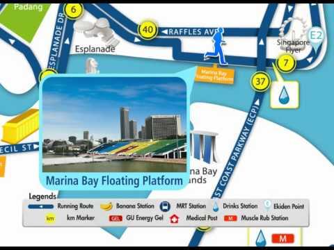 Full Marathon Route - SCMS2010